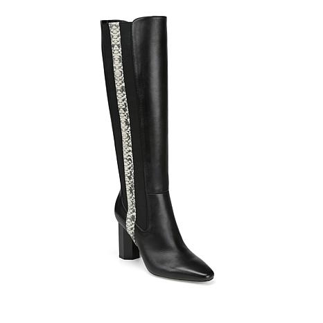 Donald J. Pliner Lilt Double-Gored Leather Tall Boot