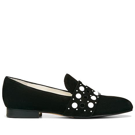 Donald J. Pliner Lin Leather or Suede Studded Flat