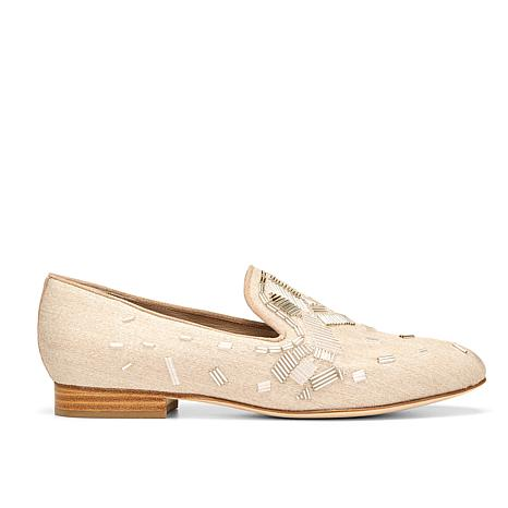 Donald J. Pliner Lyle Beaded Slipper Loafer