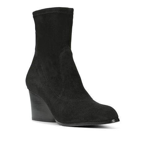 Donald J. Pliner Pandra Demi-Wedge Sock-Fit Bootie