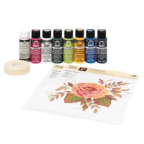 Donna Dewberry One Stroke 12-piece Paint and Etch Kit
