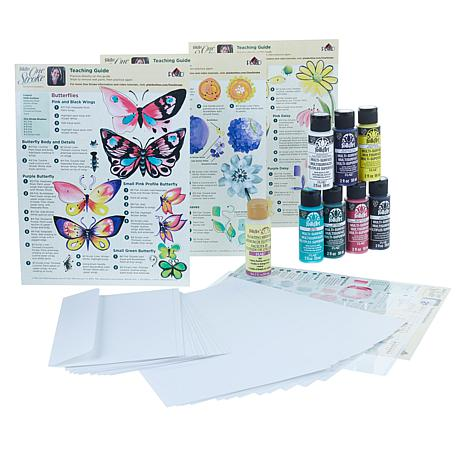 Donna Dewberry One Stroke Nature Card Painting Kit