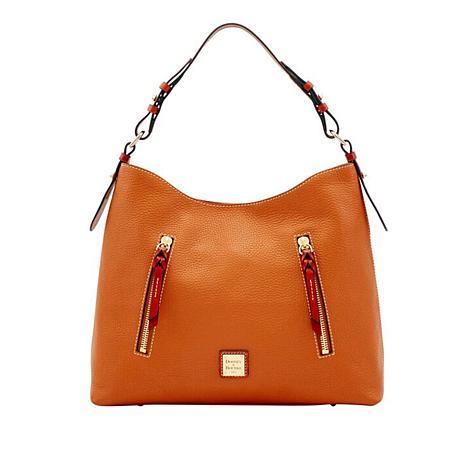 f30b5bdc7424 Dooney   Bourke Cooper Pebble Leather Hobo - 8796816