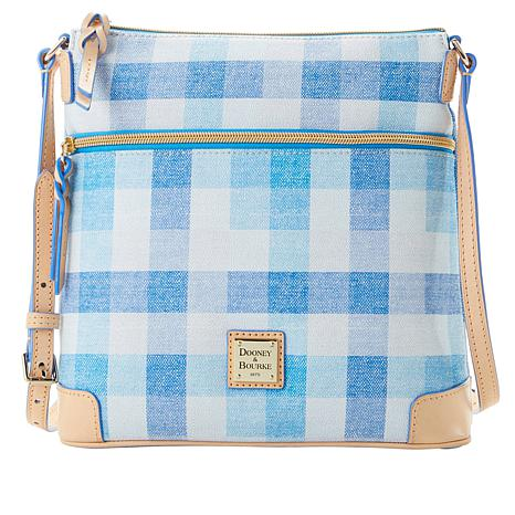 2031c492ce39 Dooney   Bourke Quadretto Check Crossbody Bag - 8899845