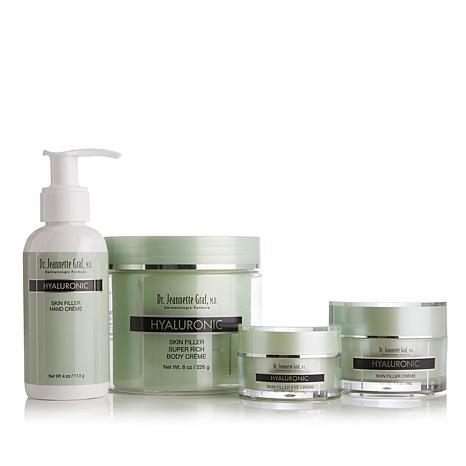 Dr. Jeannette Graf M.D. Hyaluronic Skin Filler Quartet