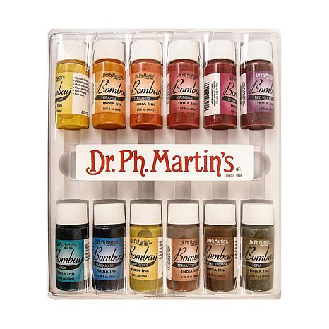 Dr. PH Martin's Bombay Set of 12 India Inks - #2