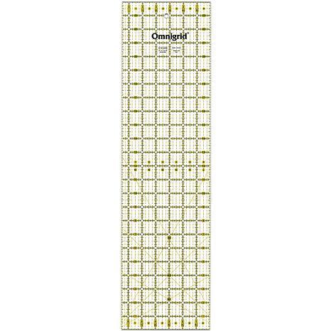 """Dritz Omnigrid Quilter's Ruler - 6-1/2"""" x 24"""""""