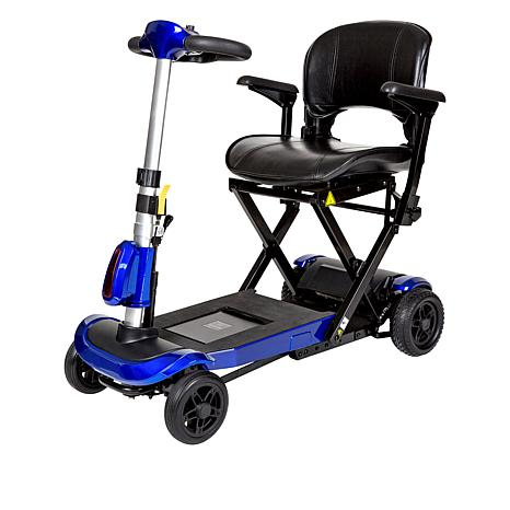 788649fb6e7 Drive Medical ZooMe Auto-Flex EX Folding Travel Mobility Scooter ...