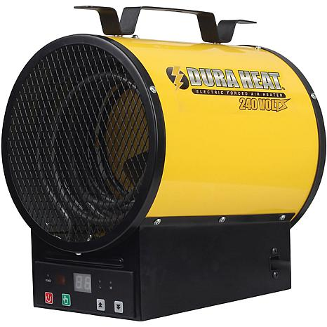 DuraHeat Electric Forced Air Heater with Remote