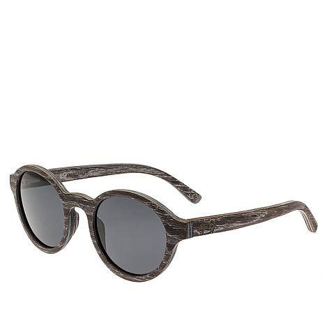Earth Wood Maho Wood Sunglasses - Silver Walnut