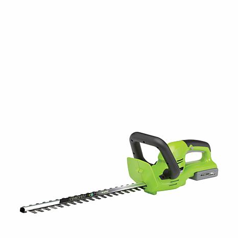"EARTHWISE 18-Volt 22"" Cordless Hedge Trimmer"