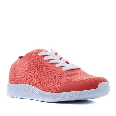 easy spirit Garabi Knit Lace-Up Sneaker