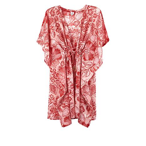 Echo Floral-Print Butterfly Cover-Up