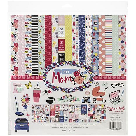 Echo Park Collection Kit 12X12 - I Am Mom