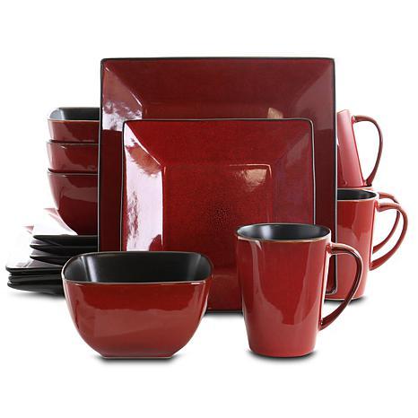 Elama Harland Loft 16-piece Dinnerware Set