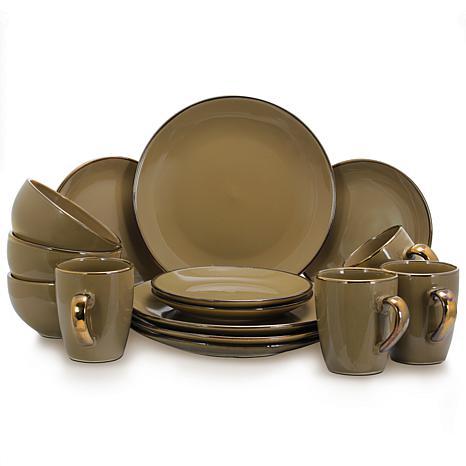 Elama's Bristol Grand 16-Piece Dinnerware Set