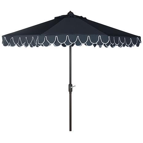 Elegant Valance 9' Patio Umbrella