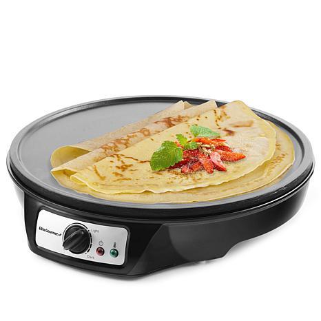 elite cuisine 12 nonstick crepe maker griddle 8892461 hsn