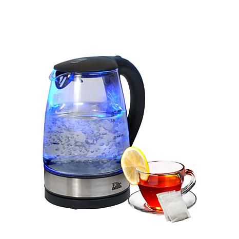 Elite Platinum Cordless 1.7-Liter Glass Kettle