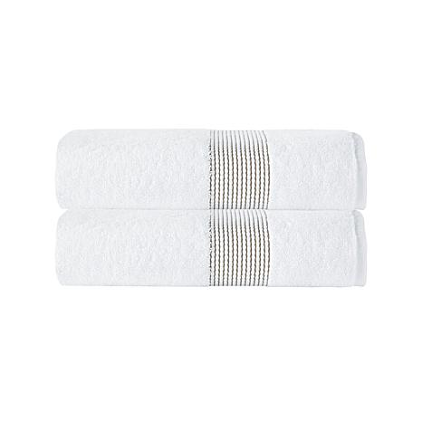 Enchante Home Elegante 100% Turkish Cotton 2-piece Bath Towel Set