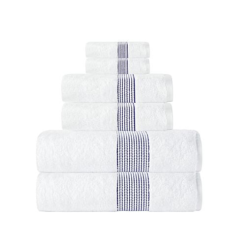 Enchante Home Elegante 100% Turkish Cotton 6-piece Towel Set
