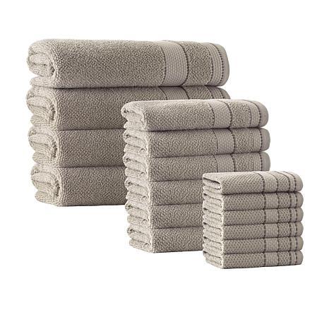 Enchante Home Monroe 16-piece Turkish Cotton Bath Towel Set