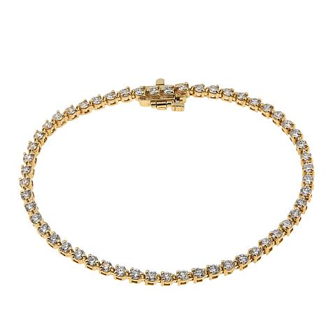 Ever Brilliant 3.02ctw Lab-Grown White Diamond  Tennis Bracelet