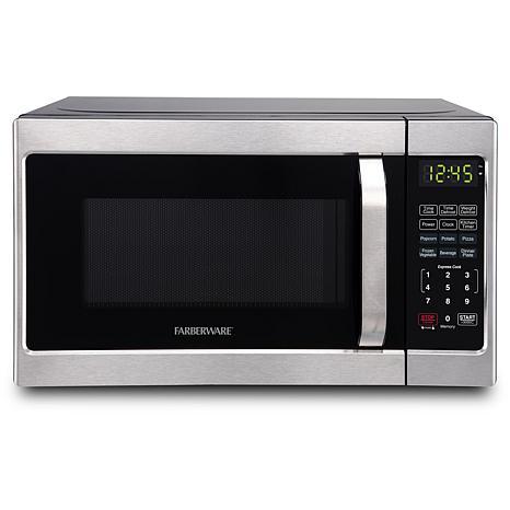 Farberware Classic .7 Cu Ft 700-Watt Microwave Oven- Brushed Stainless