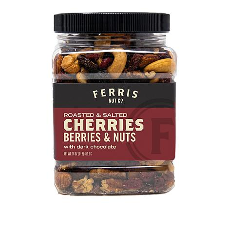 Ferris (3) 1 lb. Jars Berry/Nut Mix w/Choc. Chunks AS