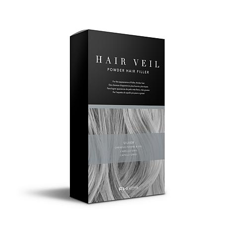 FHI Brands Hair Veil Powder Hair Filler - Silver