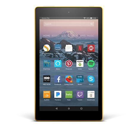 "Fire HD 8"" IPS 16GB Alexa-Enabled Tablet with Pandora Premium Offer"