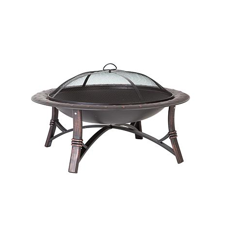 Fire Sense Roman Fire Pit - Antique Bronze