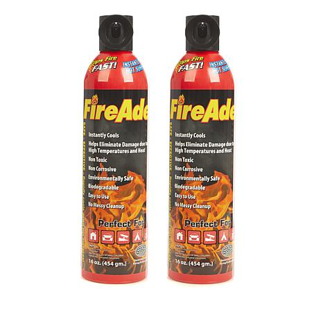 FireAde Non-Toxic Fire Extinguisher 2pk
