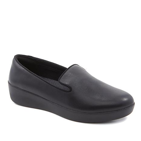FitFlop Audrey Leather Smoking Slipper