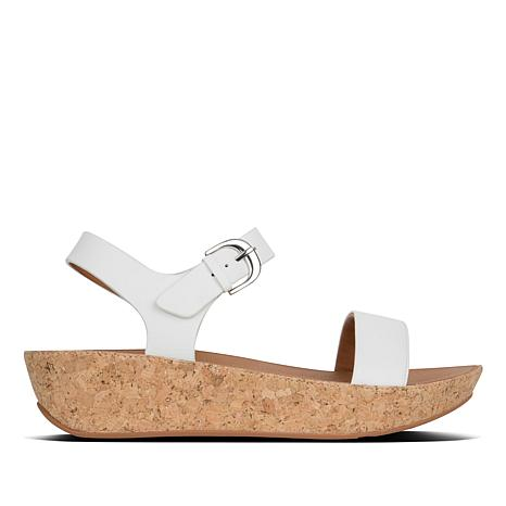 FitFlop Bon II Leather Platform Sandal