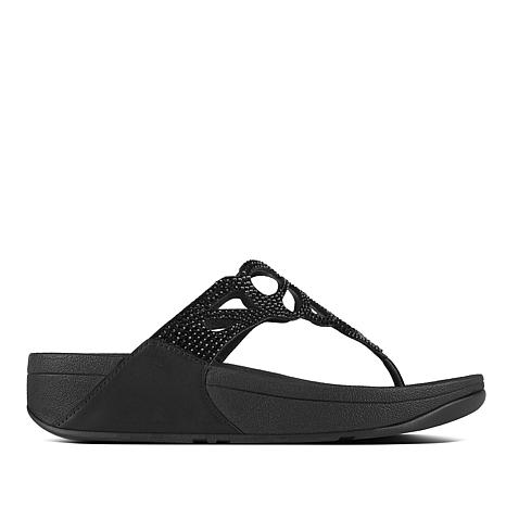 FitFlop Bumble Crystal Thong Sandal
