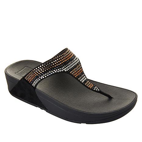 FitFlop Flare Strobe Toe Post Sandal