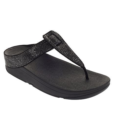 classic fit d92a4 e0e59 FitFlop Isabelle HotFix Toe Post Sandal