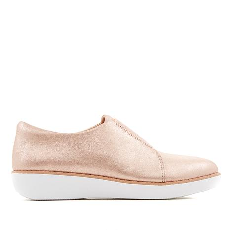 FitFlop Leather Laceless Derby Loafer