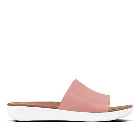 superior quality 21aaf bcb53 FitFlop Sola Leather Slide Sandal