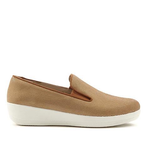 FitFlop Superskate Houndstooth Leather Shoe