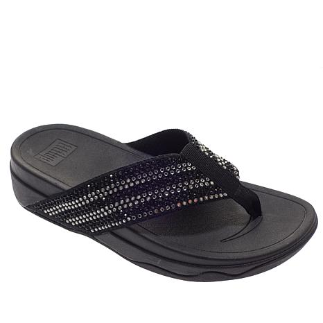 bb780fc558a3 FitFlop Surfa Crystal Toe Post Sandal - 8971010