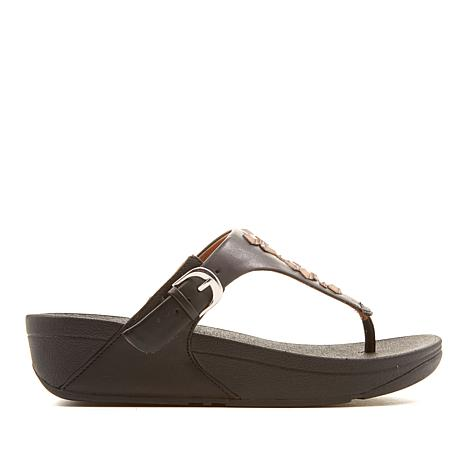 FitFlop The Skinny Leather Toe Post Sandal