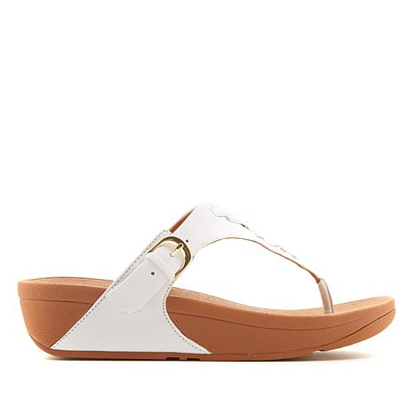 07ad96051 FitFlop The Skinny Leather Toe Post Sandal - 8762222