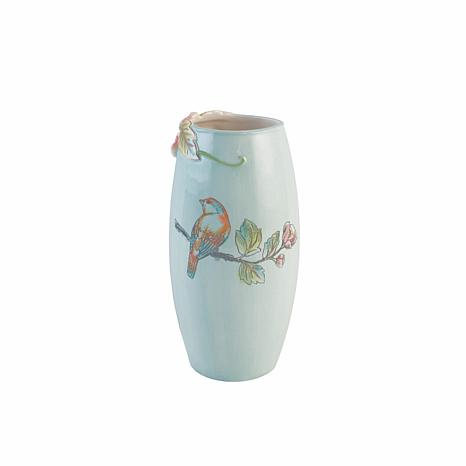 Fitz And Floyd English Garden Tall Vase 9307955 Hsn