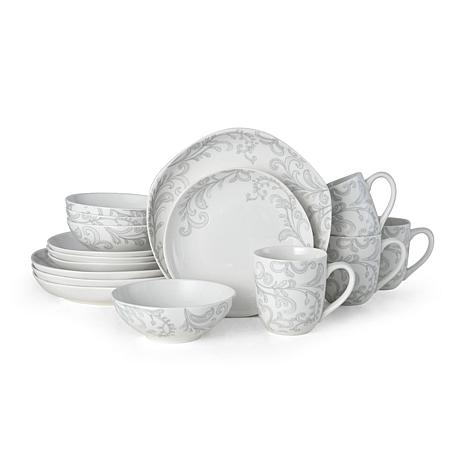 Fitz and Floyd Organic Maddi 16-piece Dinnerware Set