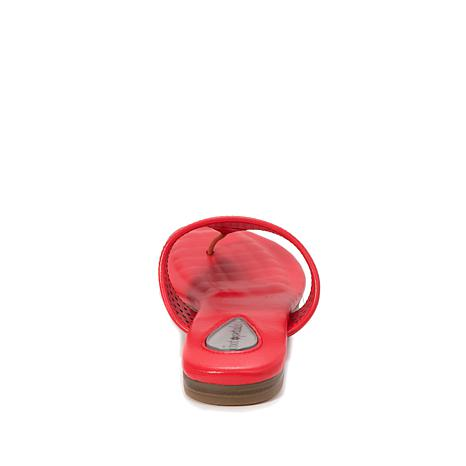 cfba7220e492 Foot Petals Evie Leather Thong Sandal with Cushionology® - 8671566