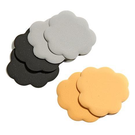 Foot Petals Tip Toes Assorted 3-pack