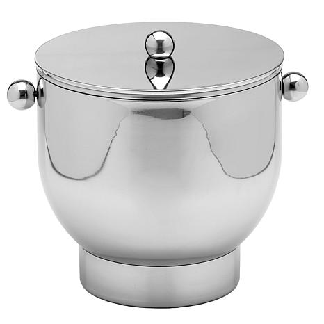 Forme 3-Quart Stainless Steel Ice Bucket with Base