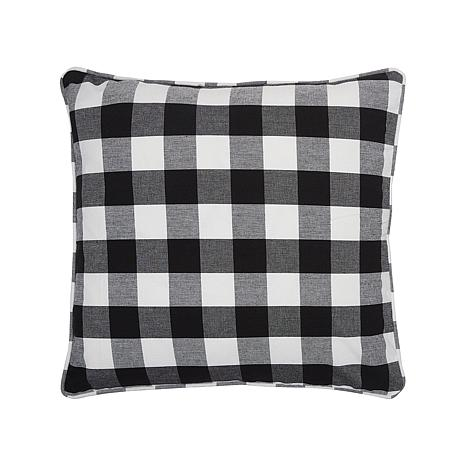 Franklin Black Pillow